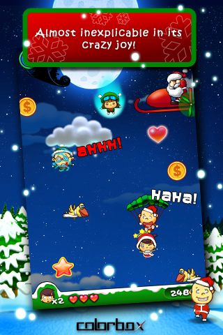 Screenshot Crazy Parachute X'mas Edition