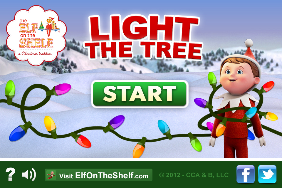 Screenshot Light the Tree – Elf on the Shelf