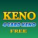 Keno 4 Multi Card FREE