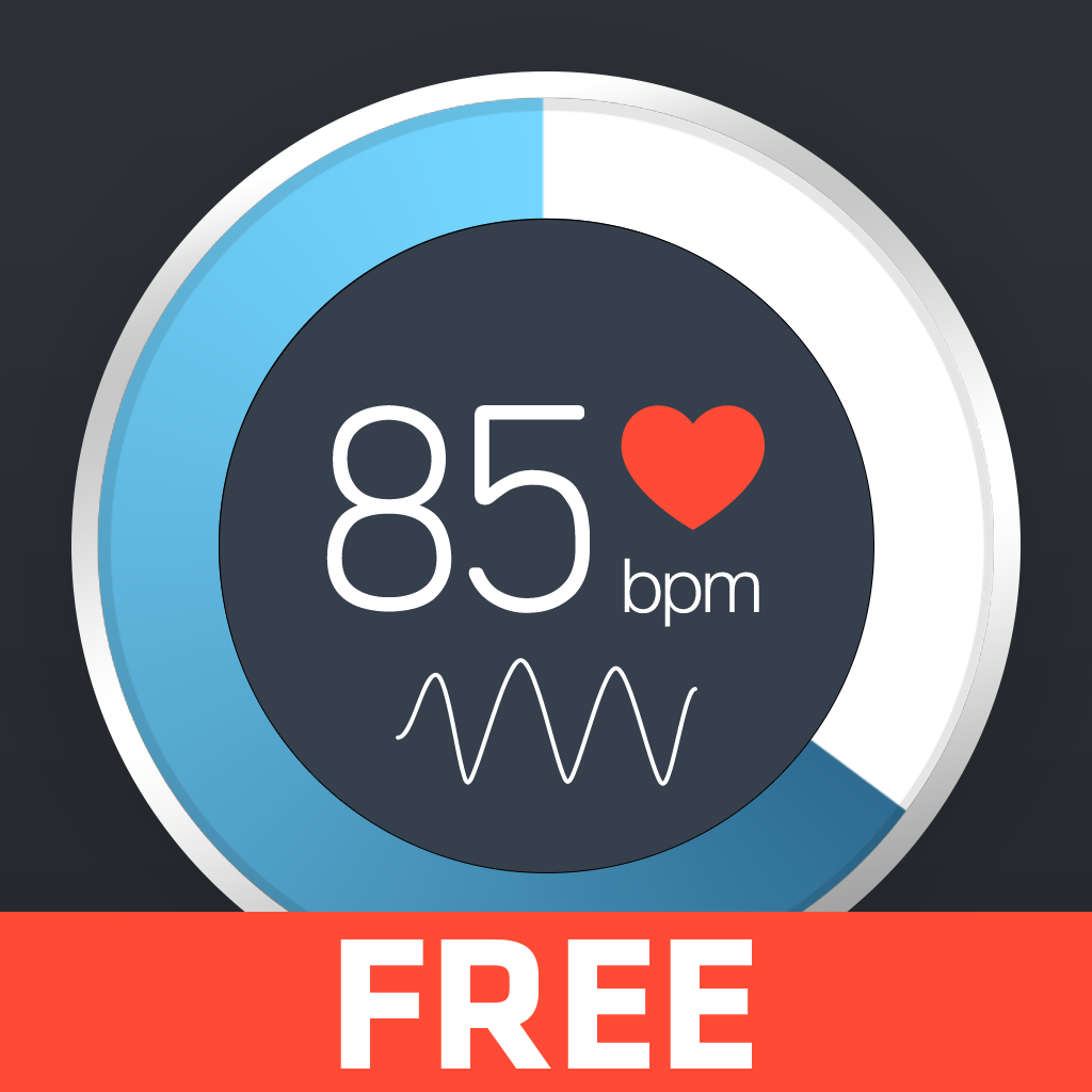 Instant Heart Rate - Heart Rate Monitor by Azumio for Free featuring workout training programs from Fitness Buddy